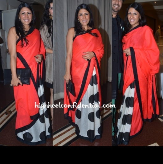 Reshma Merchant at Le Club Musique Presented by Lucky Morani & Bina Aziz(masaba dress)
