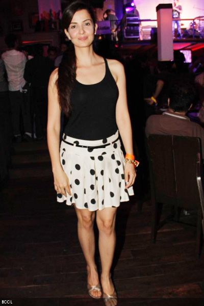Rukhsar-wearing-a-polka-dot-skirt-with-a-black-top-at-the-music-launch-of-Shaitaan-at-Hard-Rock-Cafe-Mumbai-