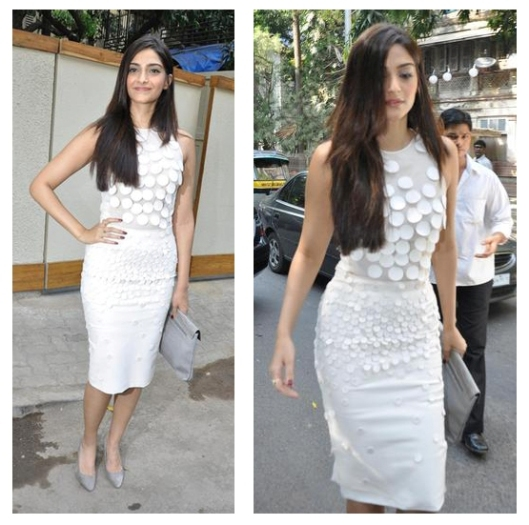 Sonam Kapoor in a Stella McCartney fall dress
